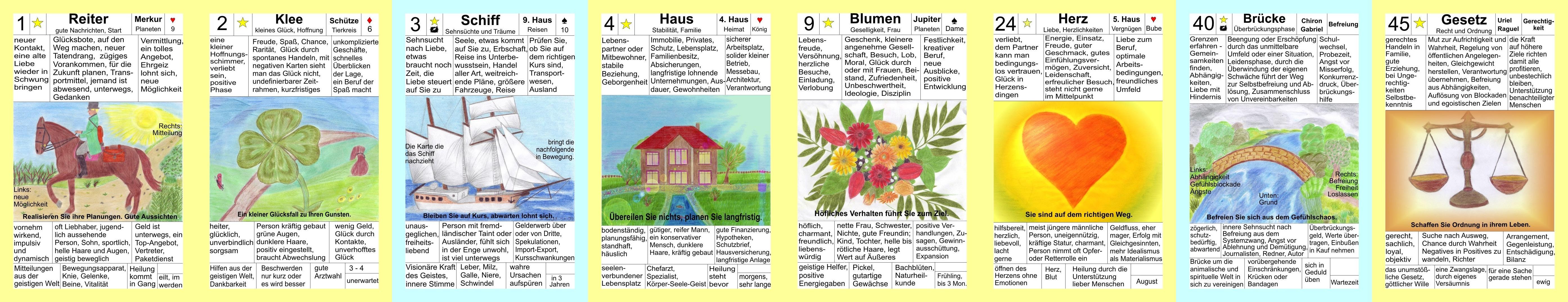 lenormandkarten online legen mit deutung
